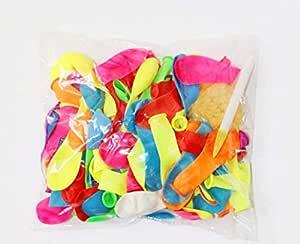 البالونات المائية الفورية (3 باقات - 111 مجموع بالونات مائية)
