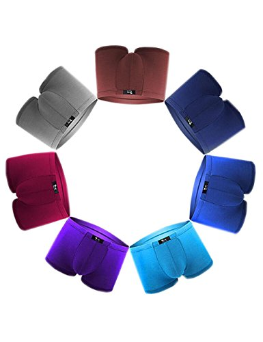 Comfort Stretch Microfiber Brief (SLJ Men's Underwear Comfort Sport Microfiber Boxer Briefs No Ride Up)