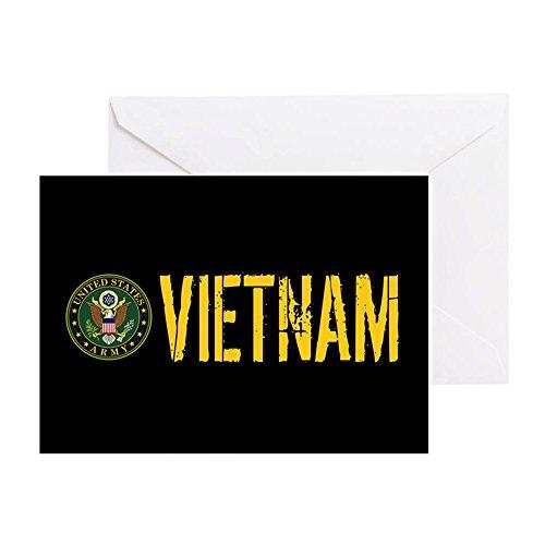 CafePress - U.S. Army: Vietnam - Greeting Card, Note Card, Birthday Card, Blank Inside Matte
