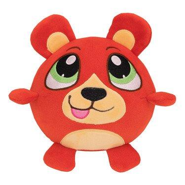 Crunchimals - Benji Crunch (Bear) - 6 inch Crunchable Stuffed Animals Plush Snuggle Buddy Cuddly Soft Toy Dolls Gift - Series 1