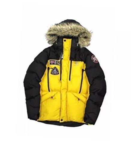 RLX Ralph Lauren Mens Down Snorkel Arctic Expedition Outerwear Coat - Ralph Expedition Lauren