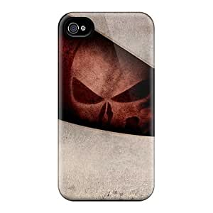 Iphone 4/4s OXT9770CIlm Allow Personal Design Nice Punisher Image Great Cell-phone Hard Cover -TimeaJoyce
