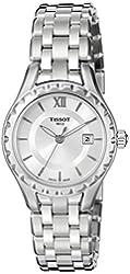 Tissot Women's T0720101103800 Lady Analog Display Swiss Quartz Silver Watch