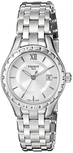 Tissot Women's T0720101103800 Lady Analog Display Swiss Quartz Silver Watch (Tissot Swiss)