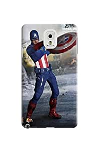 Beauty design tpu phone hard back case/cover/shell with texture for Samsung Galaxy note3 of Avengers Captain America in Fashion E-Mall