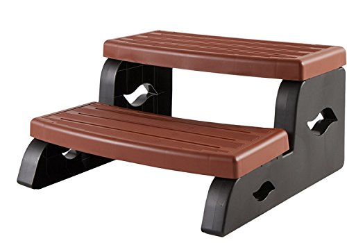 Leisure Concepts DS2BR DuraStep II Spa Step in Redwood Color