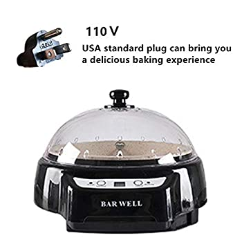 Bar Well Small Electric Home Coffee Roaster