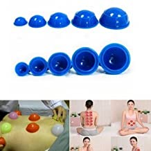 Ferbixo 12Pcs Cups Rubber Massage Relaxation Suction Cupping Therapy Set
