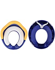 Potty Training Seat, Pu Cushion Potty Training Ring, for Home Use Children Babies Toilet