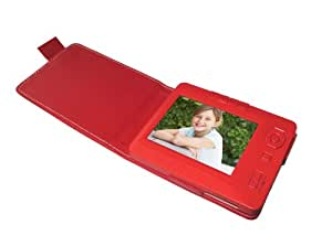 Sungale TD350A 3.5-Inch Digital Photo Album (Red)