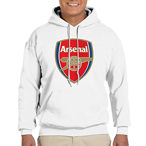 Arsenal Hooded Fleece - Arsenal Soccer Men Hoodie Novelty Fleece Sweatshirts