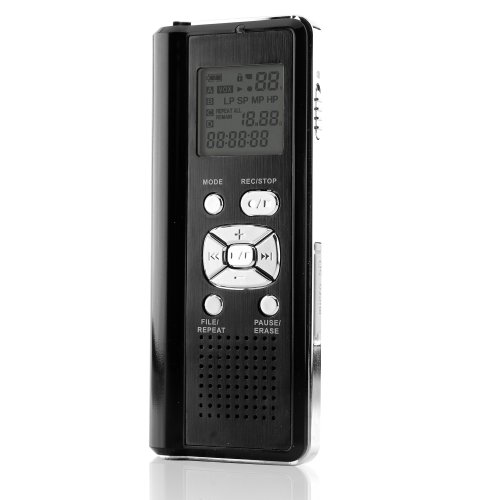 Coby CXR190-2G Digital Voice Recorder with Integrated Speakers (Discontinued by manufacturer)