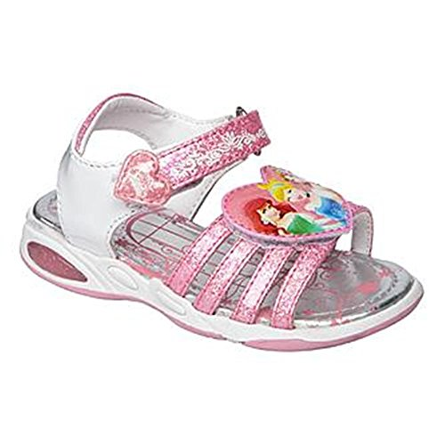 Disney Princesses Ariel Cinderella Girl Non-Light Up Sandals Shoes Size 11 ()