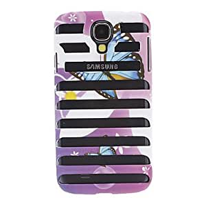 Fantasy Butterfly Design Hollow-Out Stripe Style Hard Case for Samsung Galaxy S4 I9500