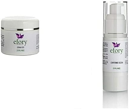 TOP SHOP Efory Cosmetics - Set de crema antiedad para contorno de ojos SYN AKE con estuche natural: Amazon.es: Belleza