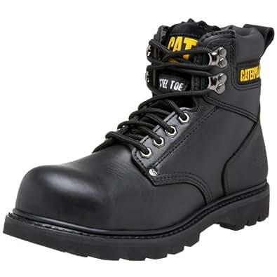 "Caterpillar Men's 2nd Shift 6"" Steel Toe Boot,Black,7 M US"