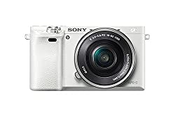 Sony Alpha A6000 Mirrorless Digital Camera With 16-50mm Power Zoom Lens (White)