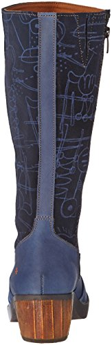 Art Zundert 1014 - Botas clásicas hasta la rodilla Mujer azul (Blue)