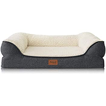 Petsure Orthopedic Pet Sofa Beds for Small, Medium, Large Dogs & Cats - 36