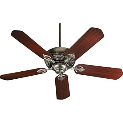 "Quorum 78525-22, Chateaux Antique Flemish Energy Star 52"" Ceiling Fan"