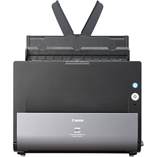 Canon imageFormula DR-C225W Office Document Scanner Black/Grey (9707B002) by Canon