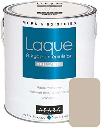 Peinture Laque Brillante Pour Murs Et Boiseries 2 5 Litres