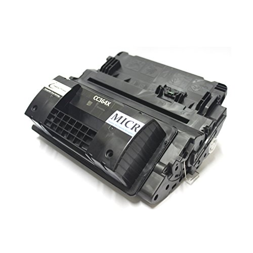 (IP Compatible HP CC364X / 64X MICR Toner Cartridge Replacement for HP CC364X for Check Printing [24,000 Page Yield])