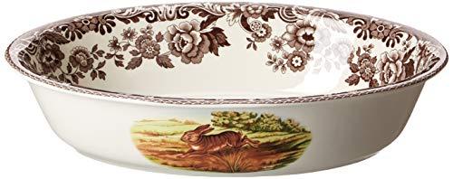 Spode Woodland Rabbit Oval Rim Dish ()