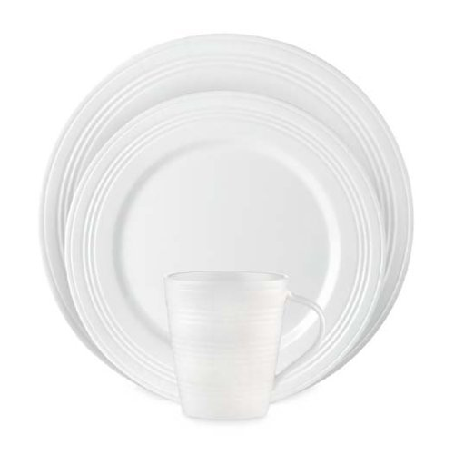 Lenox Tin Can Alley 4 Degrees 12-Piece Dinnerware Set, Service for 4