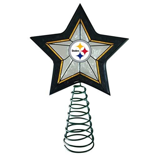 Wreath Nfl (FOCO Pittsburgh Steelers Star Tree Topper)