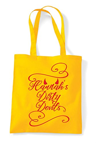 Devils Do Bag Personalised Dirty Customised Party Shopper Tote Hen White H6awXtxw