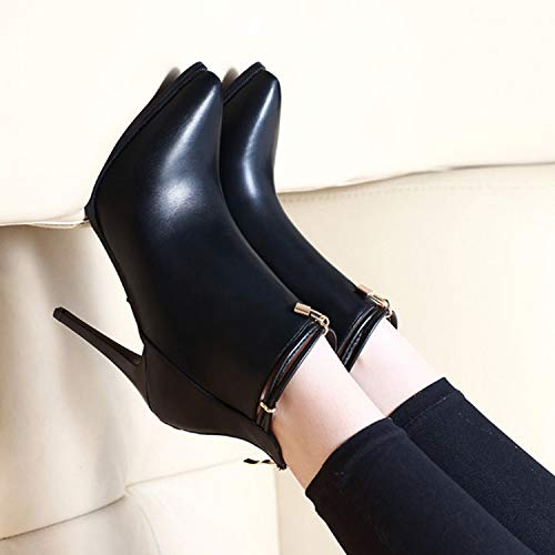 LBTSQ-Gut Mit Kurzen Kurzen Kurzen Stiefel Spitz Sexy High Heels 9Cm Stiefel Nackt Stiefel Mode. 739ec0