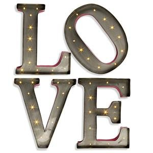 Love LED Wall Letters