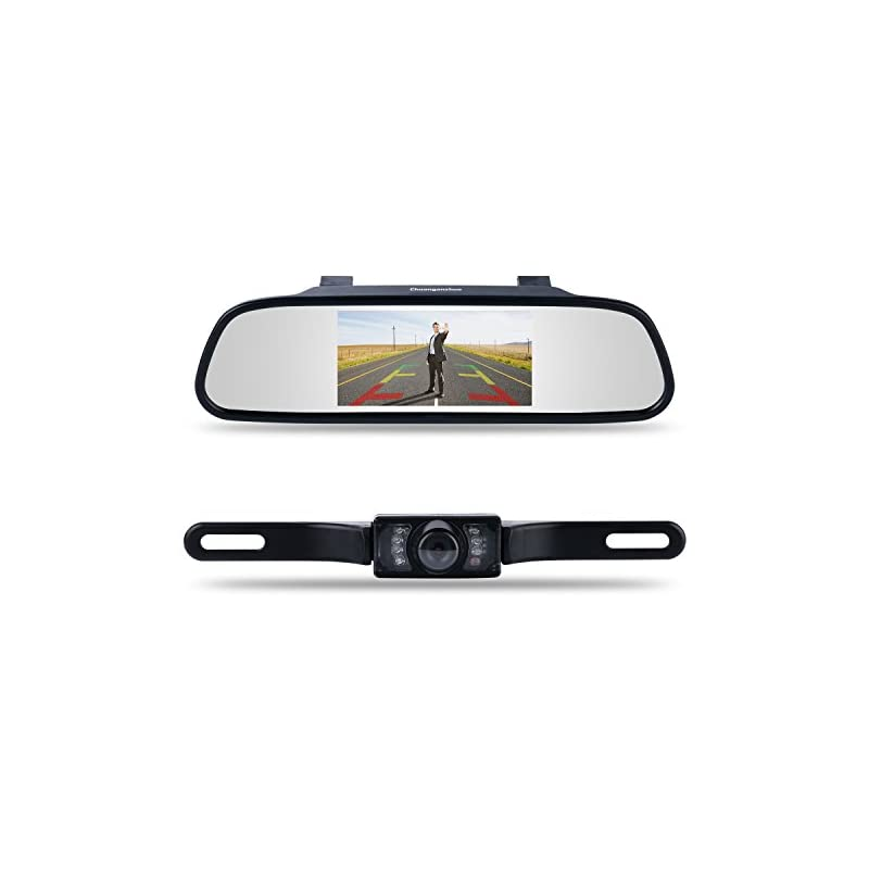 Backup Camera and Monitor Kit,Chuanganzh