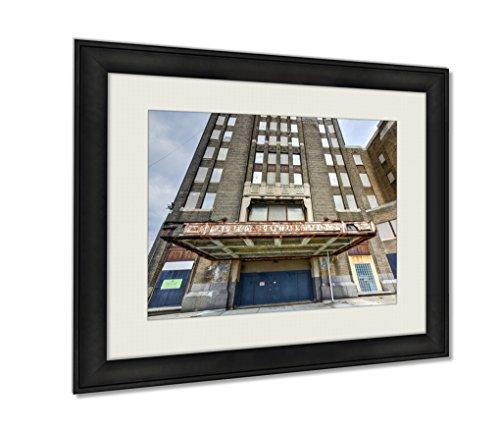 Ashley Framed Prints, Buffalo Central Terminal New York, Wall Art Decor Giclee Photo Print In Black Wood Frame, Ready to hang, 24x30 Art, AG5579650 (Central Terminal Buffalo)