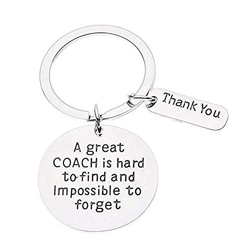 7-Almond Coach Keychain Good Coach Great Coach Keychain Coach Gifts for Men and Women