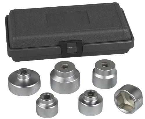 Otc 6786 6 Piece Oil Filter Cart Socket Set