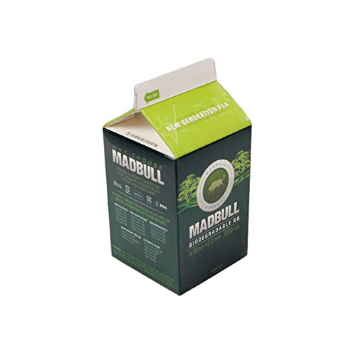 MADBULL 0.28g PLA Bio BBs - Biodegradable Milk Carton 3000 rds ...