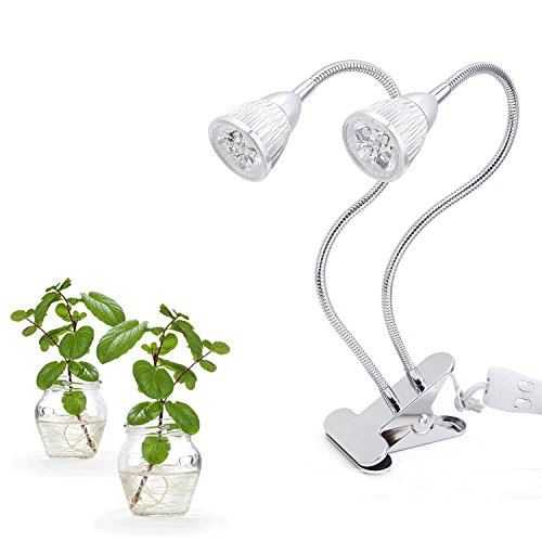 Indoor Garden Lights, edola 10w Premium Dual Head Plant L...