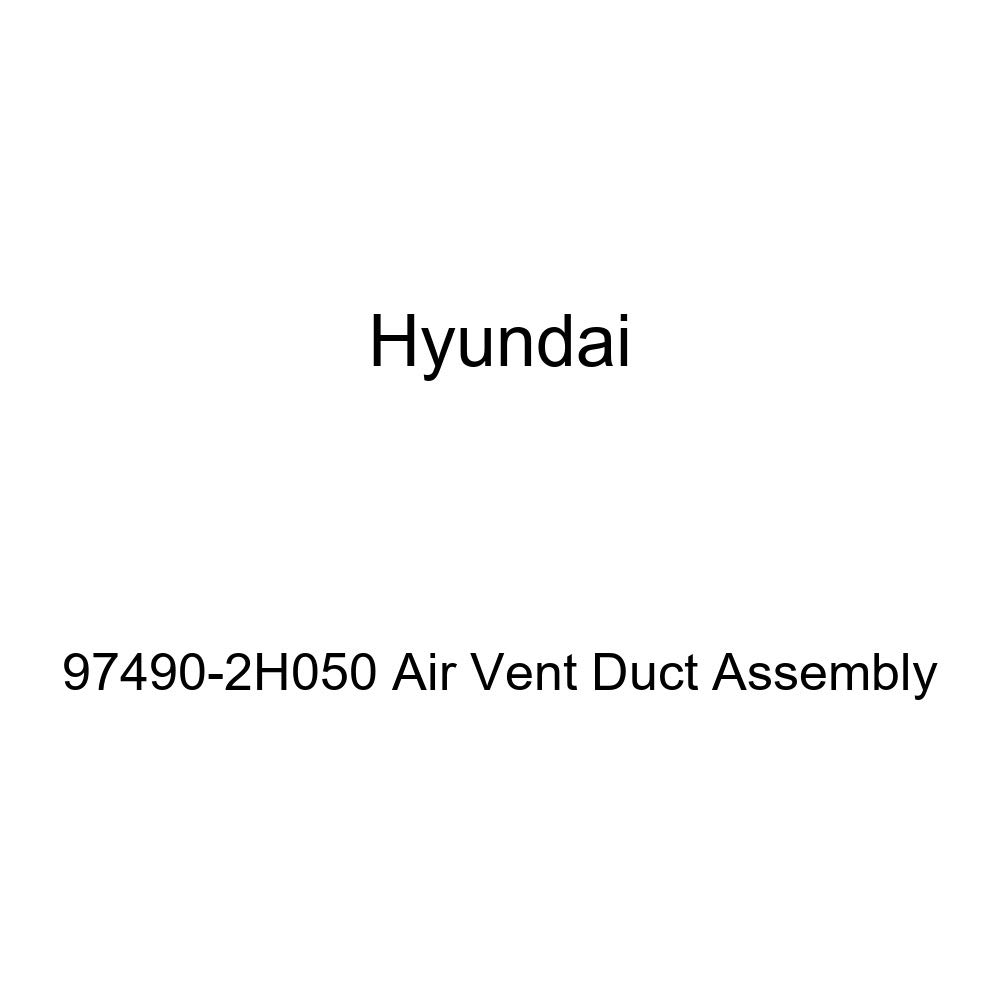 Genuine Hyundai 97490-2H050 Air Vent Duct Assembly
