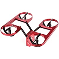 Vovomay 720P HD TY6 WIFI FPV Foldable Drone Camera Altitude Hold Mode Quadcopter (Red)