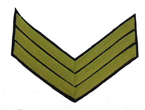 Civil War U.S. Rank Chevron - CAVALRY - Sergeant