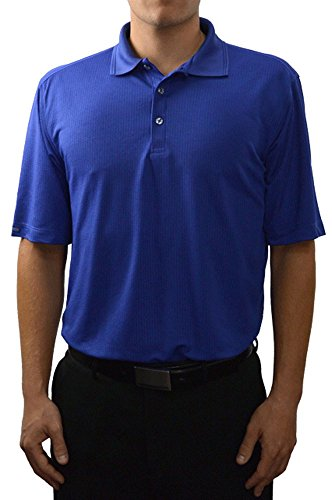 Matrix Sand - Bermuda Sands Men's Matrix - Short Sleeve Golf Shirt - Cadet Blue - Size XL