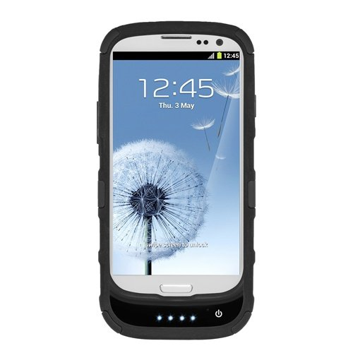 Seidio BD8-PBYSSGS3-BK CONVERT Plus Power Case, Holsters and Battery Value Bundle for Samsung Galaxy S III - Retail Packaging - Black