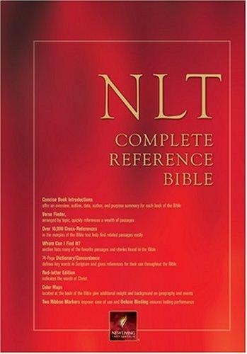 Download NLT Complete Reference Bible: NLT1 PDF