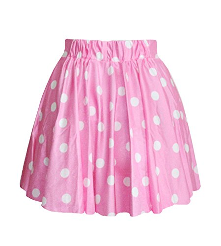 Molly Tutu Jupe Dot Short Mini Jupes Plisse Des Femme pink