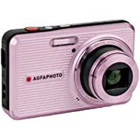 AGFAPHOTO Optima 145 PK 14 MP Digital Camera with 5x Optical Zoom, Pink