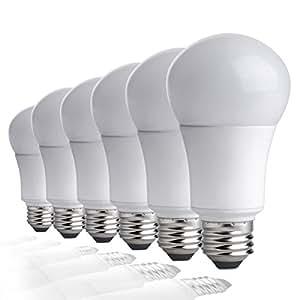 tcp la927knd6 9 watt led light bulbs shatter resistant energy
