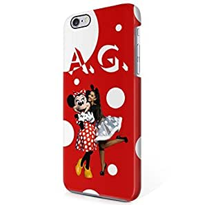 Ariana Grande Disney Minnie Mouse Polka Dots iPhone 6, iPhone 6S Hard Plastic Phone Case Cover