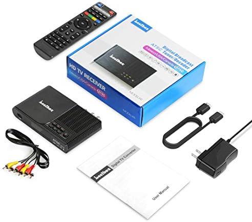 Leelbox Convertidor caja, 1080P ATSC sintonizador digital para TV ...